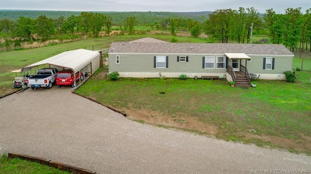 6305 S 409 West Avenue, Mannford, OK 74044 (MLS #1915301) :: Hopper Group at RE/MAX Results