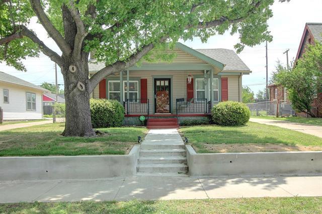 1619 S Gary Place, Tulsa, OK 74104 (MLS #1915495) :: 918HomeTeam - KW Realty Preferred