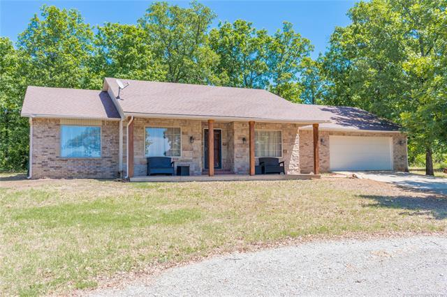 154 Deer Run Lane, Stigler, OK 74462 (MLS #1919657) :: Hopper Group at RE/MAX Results