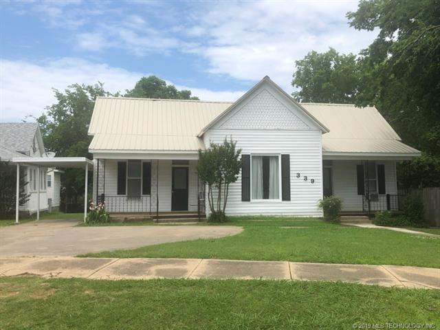 339 W Adams Avenue, Mcalester, OK 74501 (MLS #1920190) :: 918HomeTeam - KW Realty Preferred
