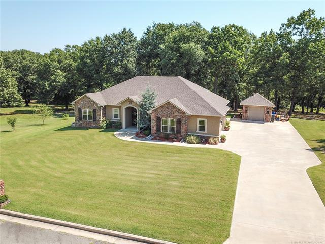 1400 N Country Ridge Drive, Stigler, OK 74462 (MLS #1921310) :: Hopper Group at RE/MAX Results