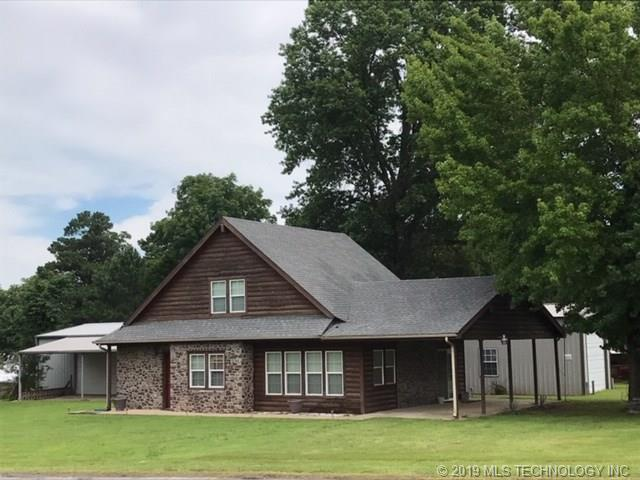 87 E 2nd Street, Eufaula, OK 74432 (MLS #1924093) :: Hopper Group at RE/MAX Results