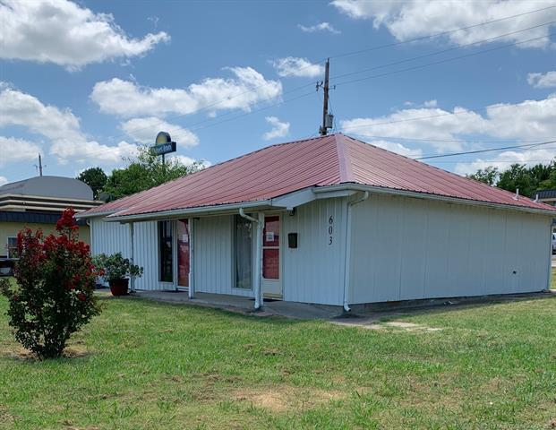 603 S Woody Guthrie Street, Okemah, OK 74859 (MLS #1927818) :: Hopper Group at RE/MAX Results