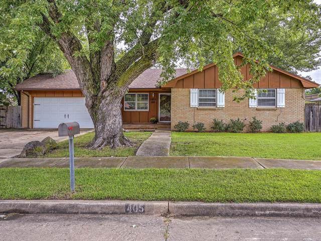 405 S Fern Avenue, Broken Arrow, OK 74012 (MLS #1933713) :: 918HomeTeam - KW Realty Preferred