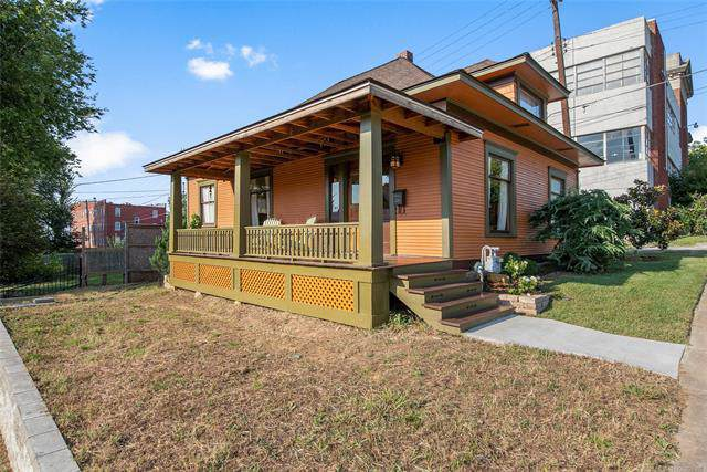 630 N Cheyenne Avenue, Tulsa, OK 74106 (MLS #1934047) :: Hopper Group at RE/MAX Results