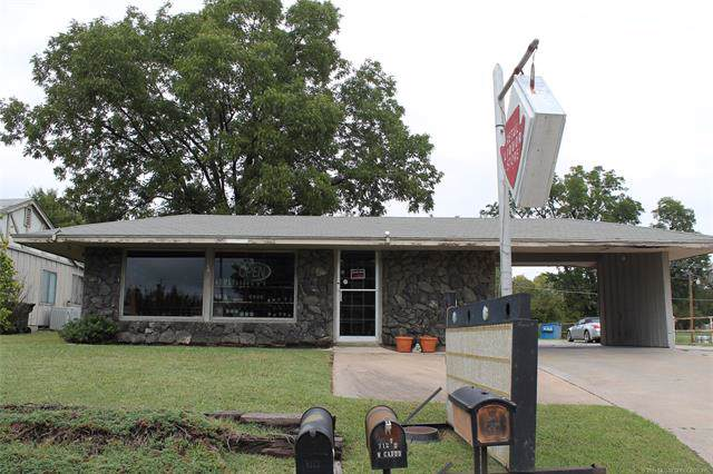 705 W Caddo Street, Cleveland, OK 74020 (MLS #1934313) :: Hopper Group at RE/MAX Results