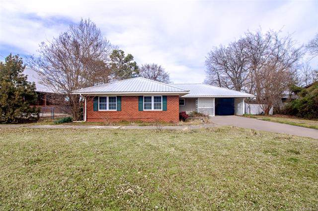 635 E Harrison Avenue, Mcalester, OK 74501 (MLS #1934550) :: Hopper Group at RE/MAX Results