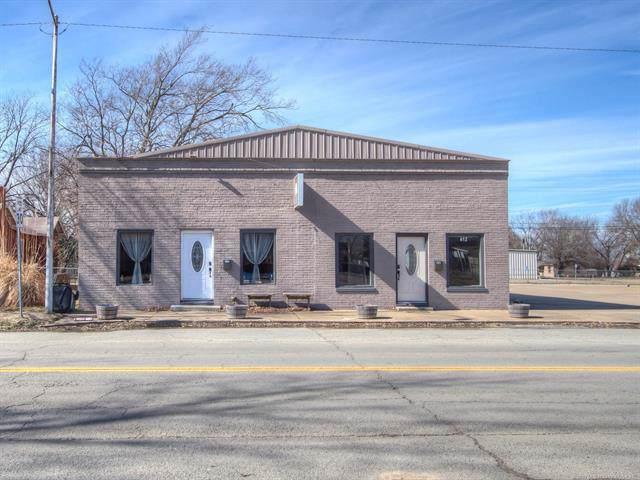 412 S Hughes Street, Morris, OK 74445 (MLS #1936609) :: 918HomeTeam - KW Realty Preferred