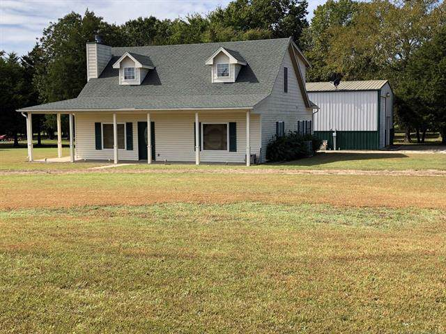 115628 S 4219 Road Eufual, Eufaula, OK 74432 (MLS #1937274) :: Hopper Group at RE/MAX Results