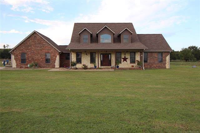 486 Sunshine Road, Mcalester, OK 74501 (MLS #1937334) :: Hopper Group at RE/MAX Results