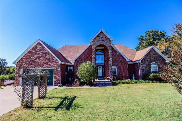 2782 Avalon Drive, Eufaula, OK 74432 (MLS #1938305) :: Hopper Group at RE/MAX Results