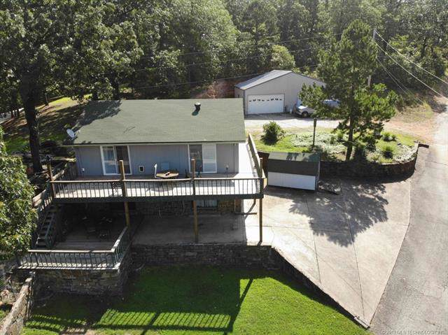 211 Private Road 042 Road, Eucha, OK 74342 (MLS #1940269) :: Hopper Group at RE/MAX Results
