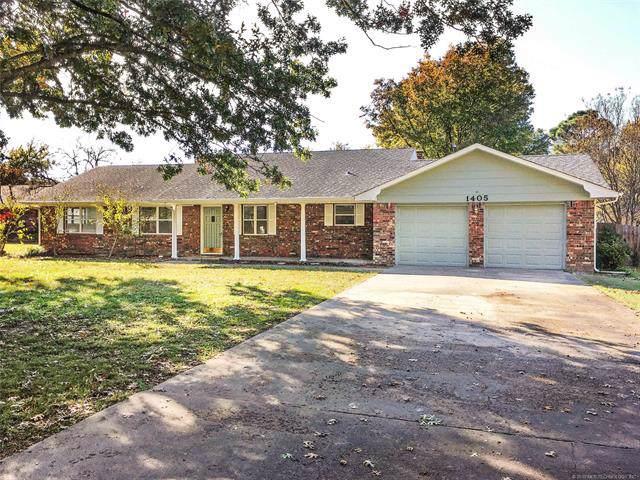 1405 Maxey Drive, Muskogee, OK 74403 (MLS #1940418) :: 918HomeTeam - KW Realty Preferred