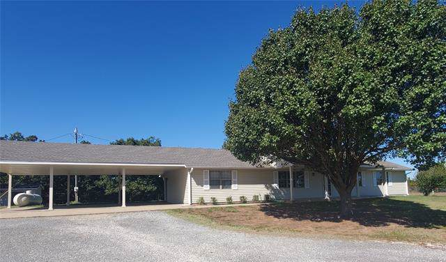 5405 County Road 1460, Ada, OK 74820 (MLS #1940655) :: Hopper Group at RE/MAX Results