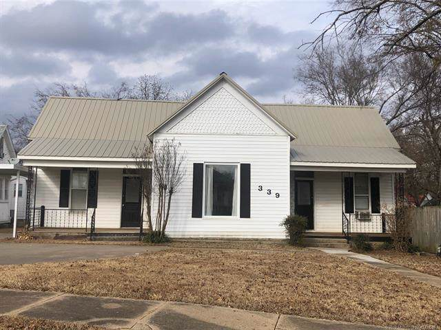 339 W Adams Avenue, Mcalester, OK 74501 (MLS #1940905) :: Hopper Group at RE/MAX Results