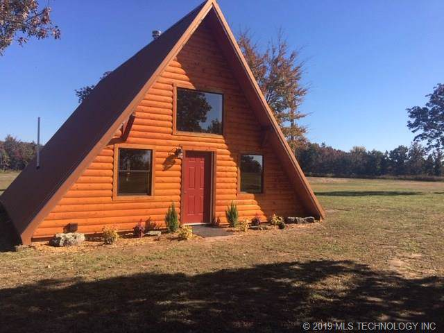 463029 E 981st Road, Marble City, OK 74955 (MLS #1941390) :: Hopper Group at RE/MAX Results