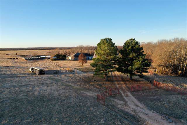 2583 E 520 Road, Rose, OK 74364 (MLS #1943395) :: Hopper Group at RE/MAX Results