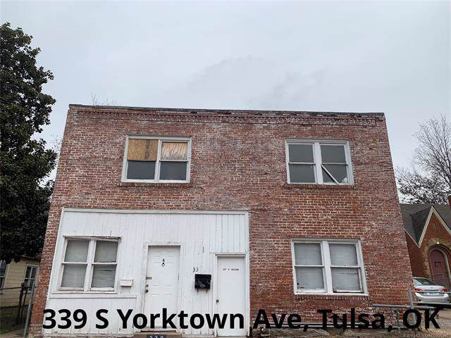 339 S Yorktown Avenue, Tulsa, OK 74104 (MLS #1944345) :: Hopper Group at RE/MAX Results