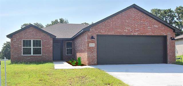829 Texoma Place, Mannford, OK 74044 (MLS #2003476) :: 918HomeTeam - KW Realty Preferred