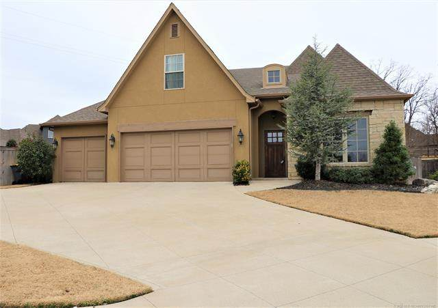 10706 S Redbud Place, Jenks, OK 74037 (MLS #2005013) :: RE/MAX T-town