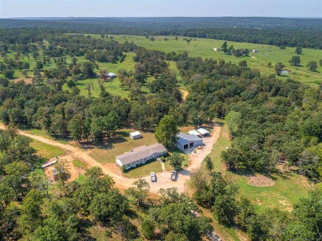 2363 D387 Road, Dustin, OK 74839 (MLS #2007966) :: Hopper Group at RE/MAX Results