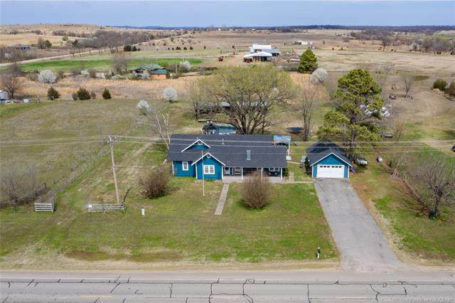 380022 Old Highway 62 Highway, Okemah, OK 74859 (MLS #2010400) :: Hopper Group at RE/MAX Results