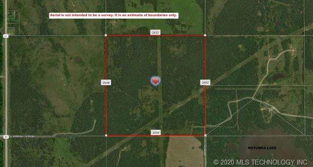 N 379 Road, Wetumka, OK 74883 (MLS #2010493) :: RE/MAX T-town