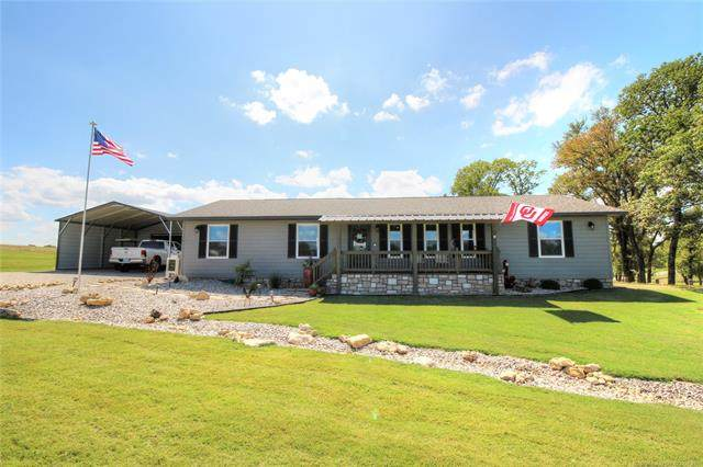 14389 Baldwin Lane, Kingston, OK 73439 (MLS #2011122) :: 918HomeTeam - KW Realty Preferred