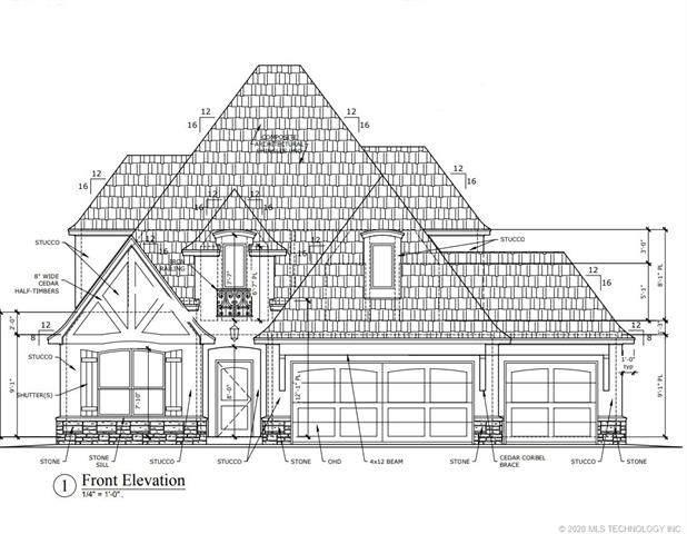 456 E 130th Place S, Jenks, OK 74037 (MLS #2011752) :: 918HomeTeam - KW Realty Preferred