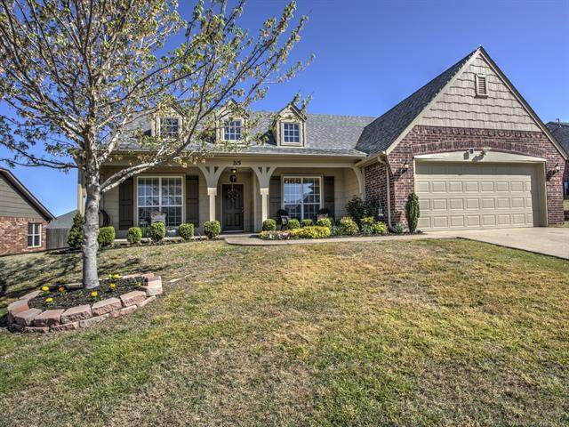 215 E 126th Street S, Jenks, OK 74037 (MLS #2013146) :: Hopper Group at RE/MAX Results