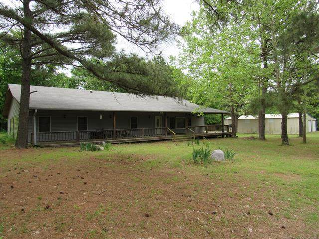 564 W Brooken Mt Road, Stigler, OK 74462 (MLS #2018028) :: Hopper Group at RE/MAX Results