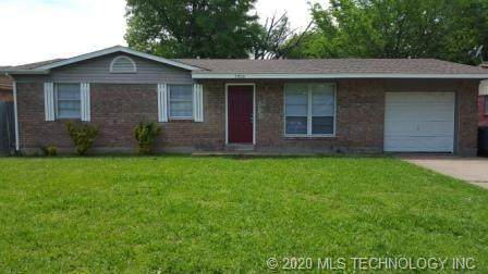 1916 S 125th Avenue E, Tulsa, OK 74128 (MLS #2018436) :: Active Real Estate