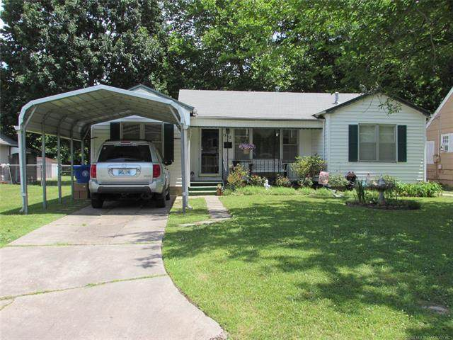1332 Cherry Street, Muskogee, OK 74403 (MLS #2019246) :: Active Real Estate