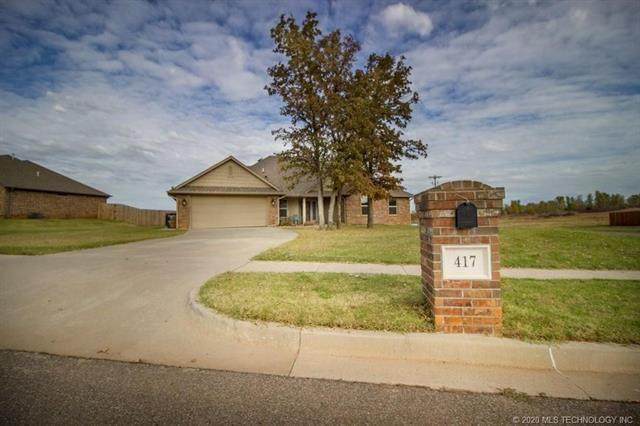 417 Bailey Street, Blanchard, OK 73010 (MLS #2019925) :: Active Real Estate