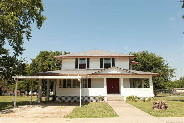 1018 Commercial Avenue, Mounds, OK 74047 (MLS #2020045) :: Hopper Group at RE/MAX Results