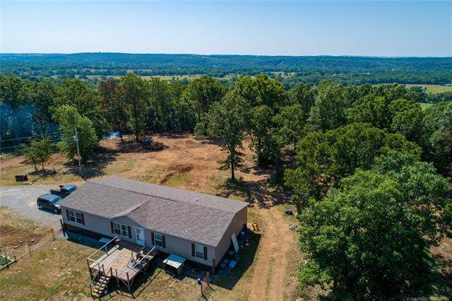 8809 W 704 Road, Hulbert, OK 74441 (MLS #2021882) :: Hopper Group at RE/MAX Results