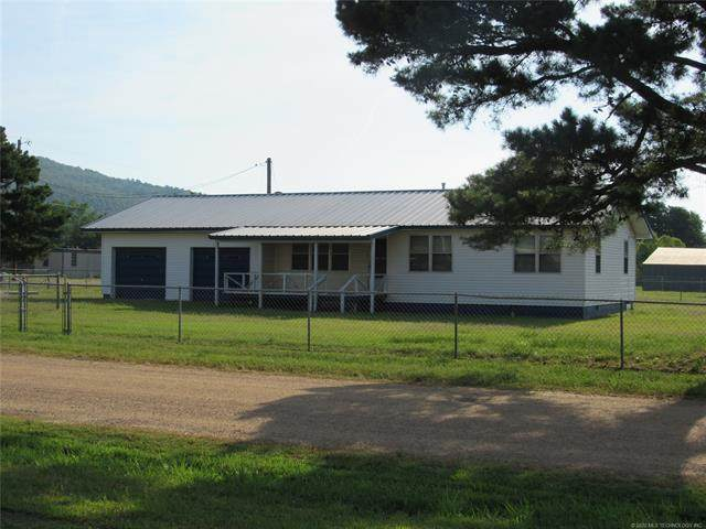 80 N D., Quinton, OK 74561 (MLS #2022070) :: Active Real Estate