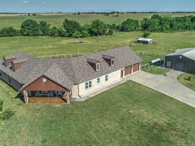 12015 S 4070 Road, Oologah, OK 74053 (MLS #2022325) :: Hopper Group at RE/MAX Results