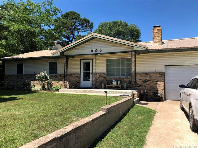 305 SW 10th Street, Wilburton, OK 74578 (MLS #2022626) :: 918HomeTeam - KW Realty Preferred