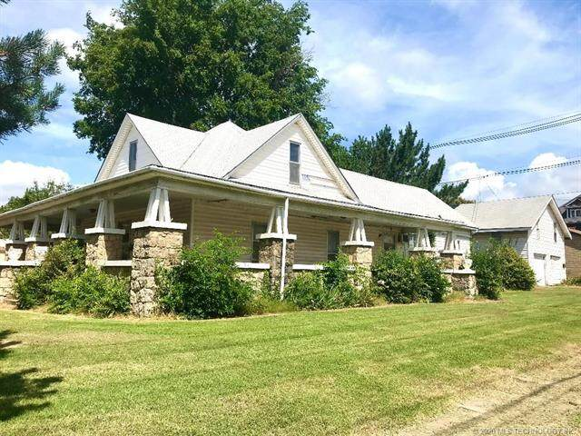422 E Broadway Street, Cushing, OK 74023 (MLS #2027127) :: 580 Realty
