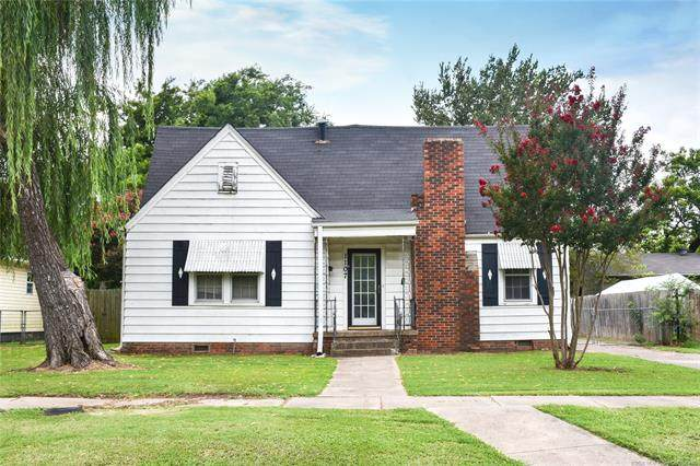 1107 S Belmont, Ada, OK 74820 (MLS #2027291) :: Hopper Group at RE/MAX Results