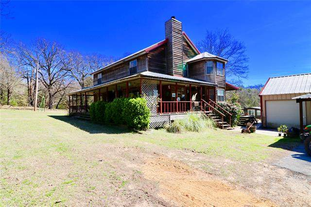 7356 State Road 91 Highway, Colbert, OK 74733 (MLS #2027348) :: 580 Realty
