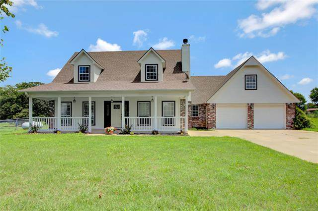 20021 S 337th West Avenue, Bristow, OK 74010 (MLS #2027879) :: 580 Realty