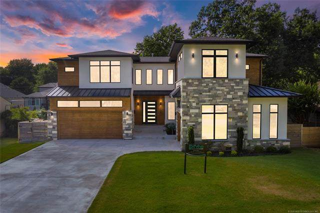 2736 S Gary Drive, Tulsa, OK 74114 (MLS #2028032) :: 918HomeTeam - KW Realty Preferred