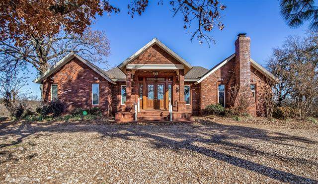 1161 Creek Avenue, Mcalester, OK 74501 (MLS #2028706) :: Hopper Group at RE/MAX Results