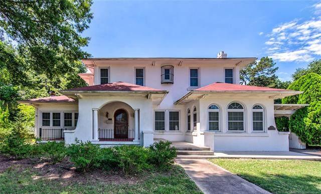 1524 E 7th Street, Okmulgee, OK 74447 (MLS #2028755) :: 918HomeTeam - KW Realty Preferred