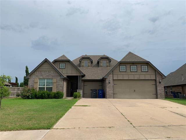 17507 E 45th Place S, Tulsa, OK 74134 (MLS #2029537) :: Hopper Group at RE/MAX Results