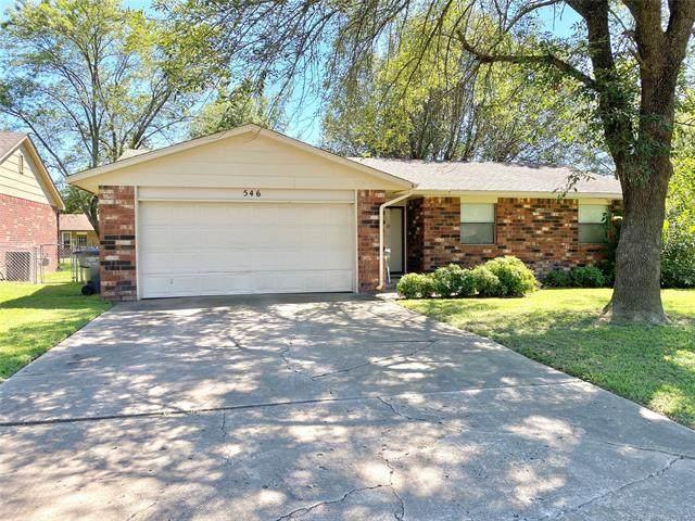 546 E 139th Place, Glenpool, OK 74033 (MLS #2030139) :: Active Real Estate