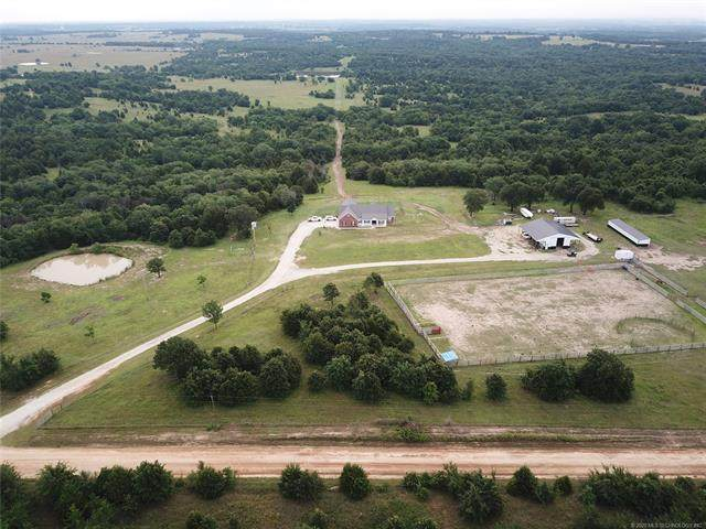3470 N 3670 Road, Holdenville, OK 74848 (MLS #2030860) :: Active Real Estate