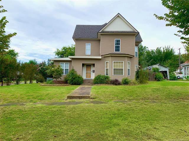 400 N Burns, Holdenville, OK 74848 (MLS #2031195) :: Active Real Estate